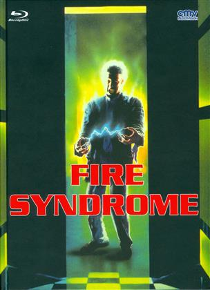 Fire Syndrome (1990) (Cover B, Limited Edition, Mediabook, Uncut, Blu-ray + DVD)