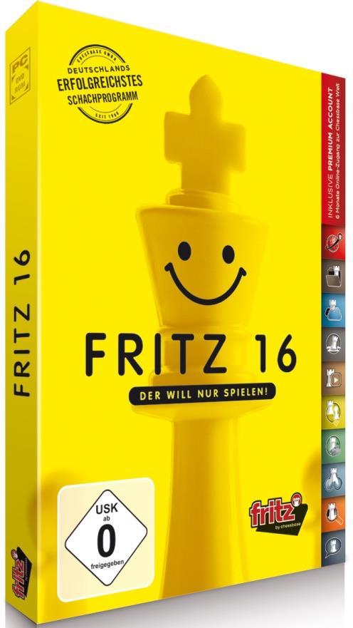 Fritz 16 - Der will nur spielen