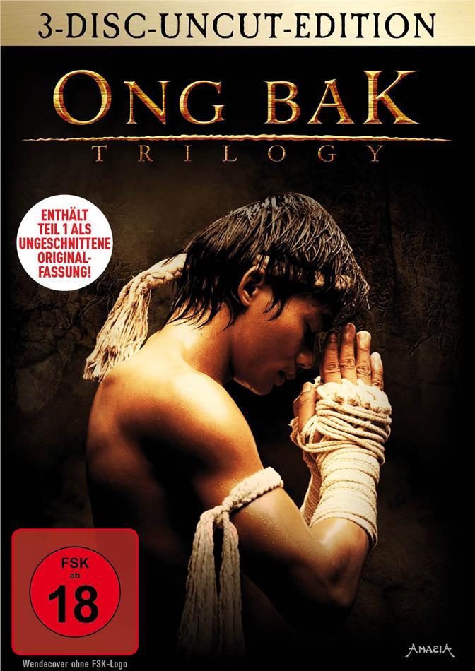 Ong Bak Trilogy (Uncut, 3 DVDs)