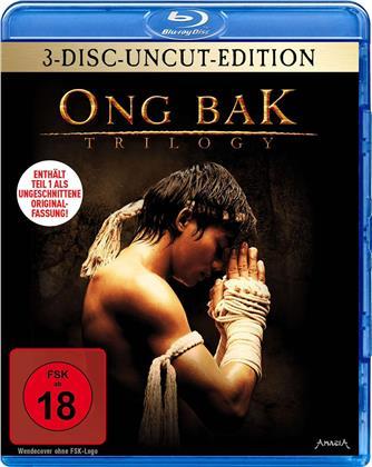 Ong Bak Trilogy (Uncut, 3 Blu-rays)