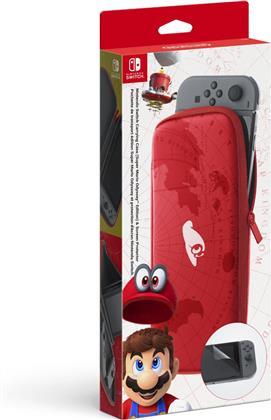 Nintendo Switch-Tasche (Super Mario Odyssey) &-Schutzfolie