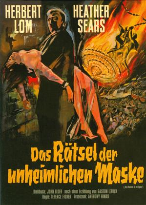 Das Rätsel der unheimlichen Maske (1962) (Cover B, Limited Edition, Mediabook, Blu-ray + DVD)