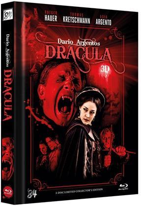 Dario Argentos Dracula (2012) (Cover A, Collector's Edition, Limited Edition, Mediabook, Blu-ray 3D + DVD)