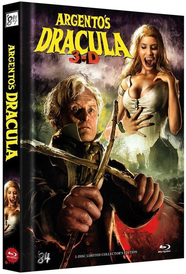 Argento's Dracula (2012) (Cover C, Collector's Edition, Limited Edition, Mediabook, Uncut, Blu-ray 3D + DVD)
