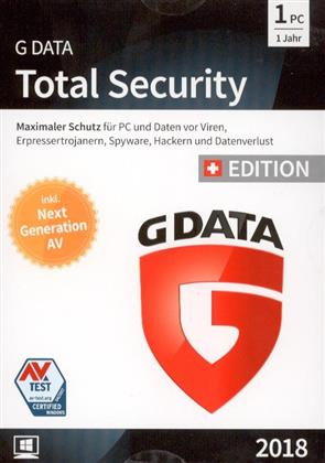 GData Total Security 2018 Swiss Edition (1 PC)