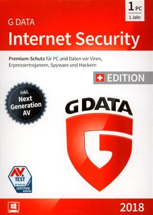 GData Internet Security 2018 Swiss Edition (1PC)