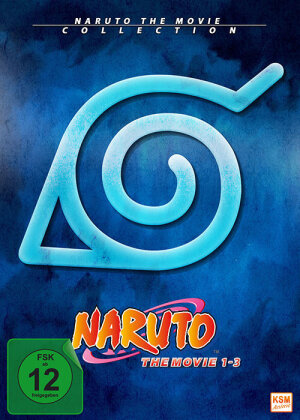 Naruto - The Movie Collection 1-3 (Limited Edition, 3 DVDs)