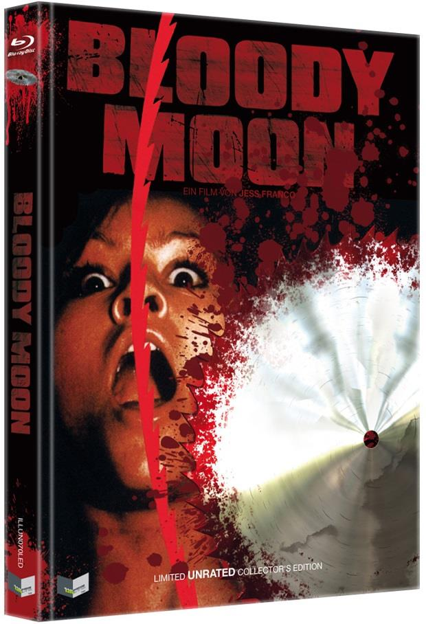 Bloody Moon (1981) (Cover D, Collector's Edition, Limited Edition, Mediabook, Unrated)