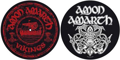 Amon Amarth Turntable Slipmat Set - Vikings (Retail Pack)