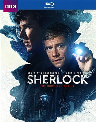 Sherlock - Seasons 1-4 & The Abominable Bride (BBC, 9 DVDs)