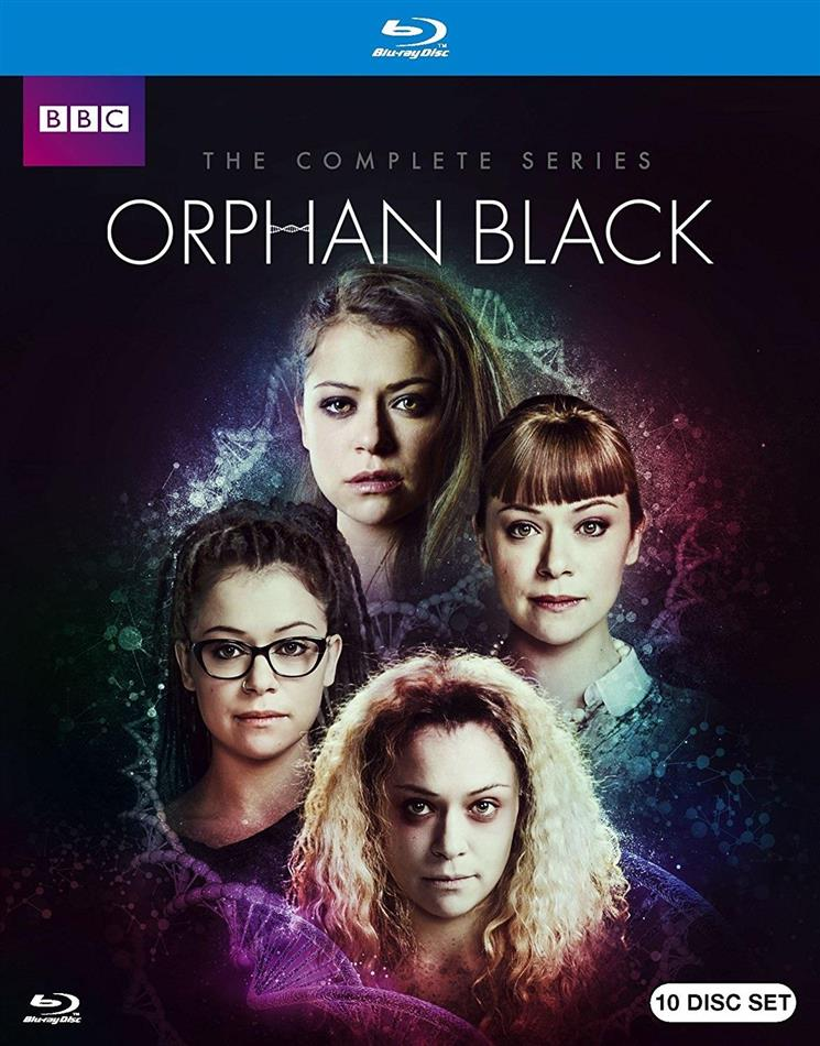 Orphan Black - The Complete Series (BBC, 10 Blu-ray)