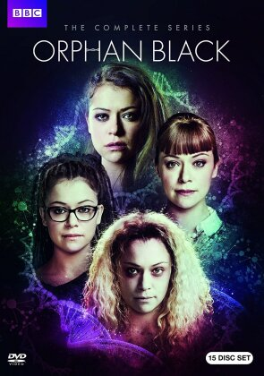 Orphan Black - The Complete Series (BBC, 15 DVD)