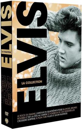 Elvis - La collection (s/w, 8 DVDs)