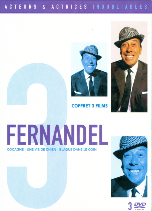 Fernandel - Cocagne / Blague dans le coin / Une vie de chien (s/w, 3 DVDs)