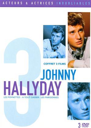 Johnny Hallyday - Les Poneyttes / À tout casser / Les Parisiennes (3 DVDs)