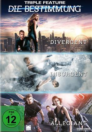 Die Bestimmung - Triple Feature - Divergent / Insurgent / Allegiant (3 DVDs)