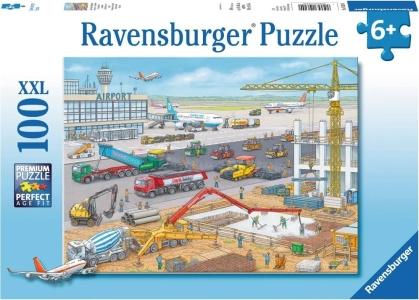 Baustelle am Flughafen - 100 XXL-Teile Puzzle