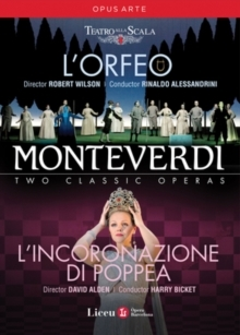 Various Artists - Monteverdi - L'Orfeo & L'incoronazione di Poppea (Opus Arte, 2 DVDs)