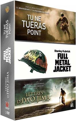 Tu ne tueras point / Lettres d'Iwo Jima / Full Metal Jacket (3 DVDs)