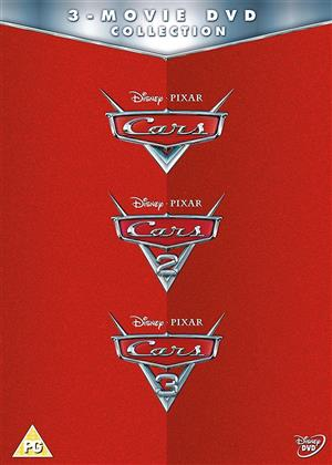 Cars - 3-Movie DVD Collection (3 DVDs)