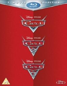 Cars 1-3 (3 Blu-rays)