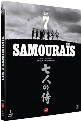 Les 7 samouraïs (1954) (s/w, 2 Blu-rays)