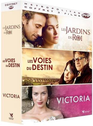Les Jardins du Roi / Les Voies du destin / Victoria - Les jeunes années d'une reine (3 DVDs)