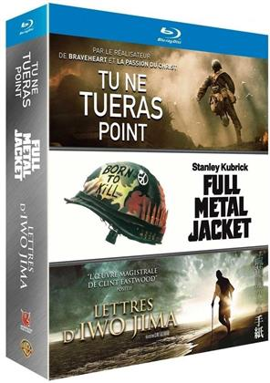 Tu ne tueras point / Lettres d'Iwo Jima / Full Metal Jacket (3 Blu-rays)