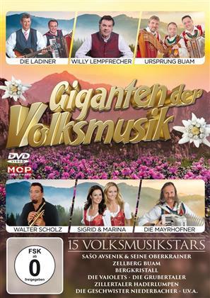 Various Artists - Giganten der Volksmusik