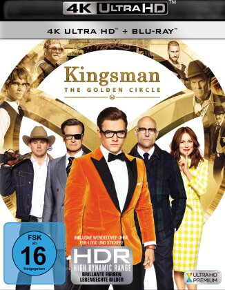 Kingsman 2 - The Golden Circle (2017) (4K Ultra HD + Blu-ray)