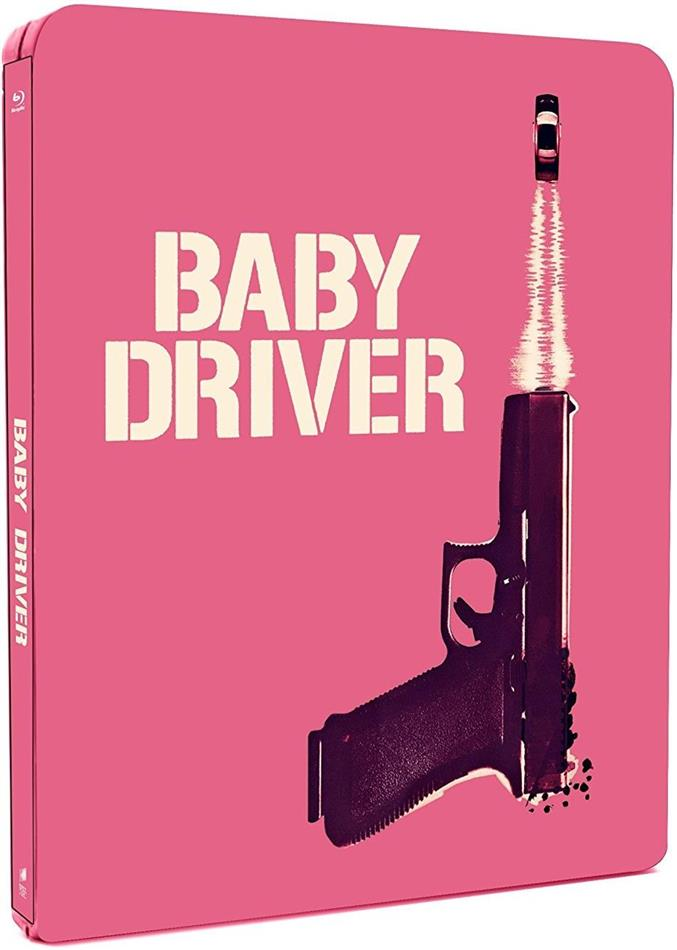 Baby Driver (2017) (Steelbook, 2 Blu-ray)