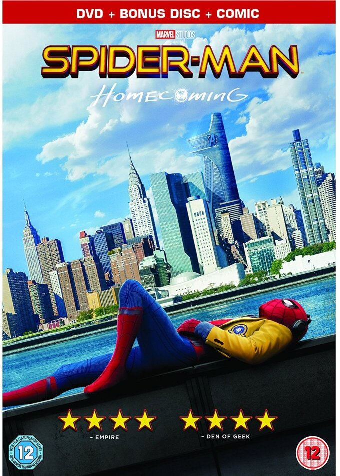Spider-Man: Homecoming (2017) (+ Comic Book, Limited Edition, 2 DVDs)
