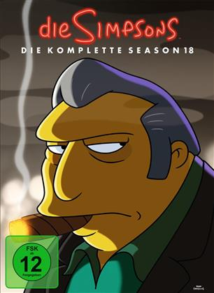 Die Simpsons - Staffel 18 (4 DVDs)