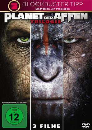 Planet der Affen - Trilogie (3 DVDs)