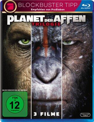 Planet der Affen - Trilogie (3 Blu-rays)