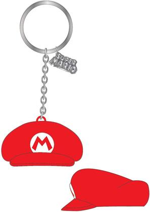 Nintendo: Mario Hat - Gummi-Schlüsselanhänger