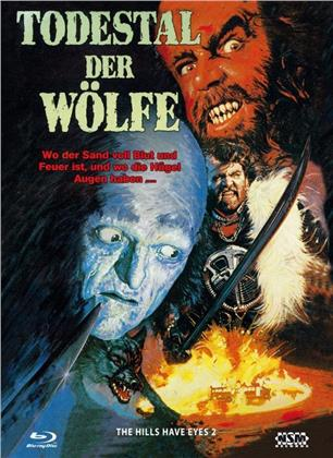 Todestal der Wölfe (1984) (Cover A, Collector's Edition, Limited Edition, Mediabook, Uncut, Blu-ray + DVD)
