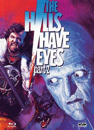 The Hills Have Eyes part 2 (1984) (Cover B, Collector's Edition, Limited Edition, Mediabook, Uncut, Blu-ray + DVD)
