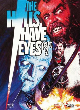 The Hills Have Eyes part 2 (1984) (Cover C, Limited Edition, Mediabook, Uncut, Blu-ray + DVD)
