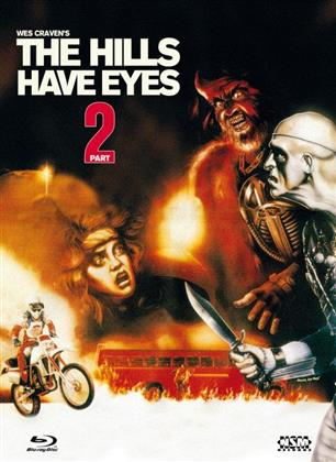 The Hills Have Eyes Part 2 (1984) (Cover D, Collector's Edition, Edizione Limitata, Mediabook, Uncut, Blu-ray + DVD)