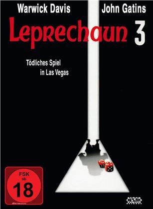 Leprechaun 3 - Tödliches Spiel in Las Vegas (1995) (Cover A, Collector's Edition, Limited Edition, Mediabook, Blu-ray + DVD)