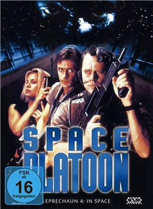 Space Platoon - Leprechaun 4: In Space (1996) (Cover B, Collector's Edition, Limited Edition, Mediabook, Blu-ray + DVD)