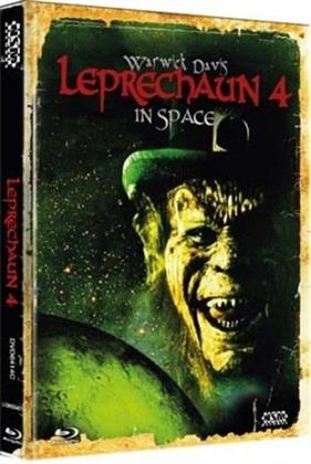Leprechaun 4 - In Space (1996) (Cover C, Collector's Edition, Limited Edition, Mediabook, Blu-ray + DVD)