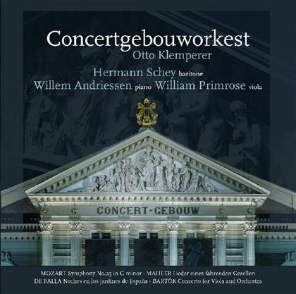Wolfgang Amadeus Mozart (1756-1791), Manuel de Falla (1876-1946) & Gustav Mahler (1860-1911) - Symp. No.25/Lieder