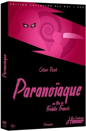 Paranoïaque (1963) (Collection Les Cauchemars de la Hammer, Edition Collector, s/w, Blu-ray + DVD)