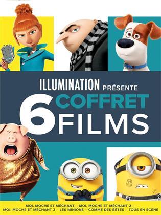 Illumination présente... - Coffret 6 films (6 DVDs)