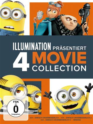 Ich - einfach unverbesserlich - 4-Movie Collection (4 DVDs)