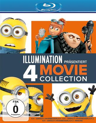 Ich - einfach unverbesserlich - 4 Movie Collection (4 Blu-rays)