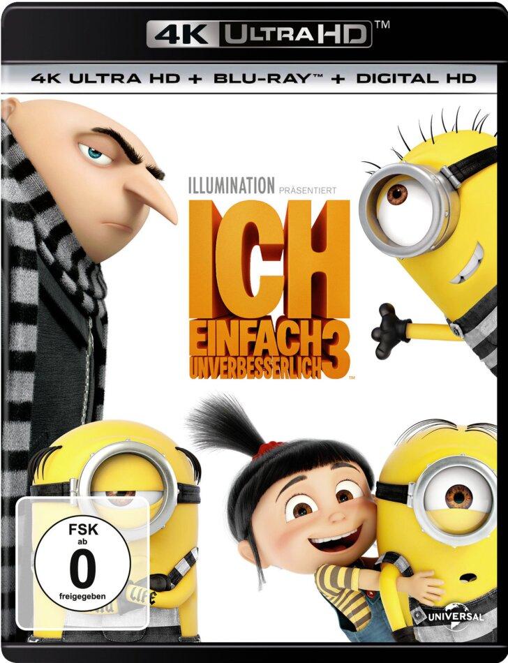 Ich - Einfach unverbesserlich 3 (2017) (4K Ultra HD + Blu-ray)