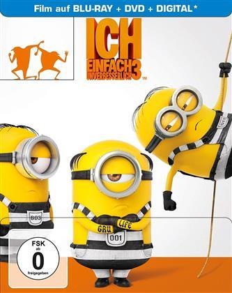 Ich - Einfach unverbesserlich 3 (2017) (Limited Edition, Steelbook, Blu-ray + DVD)